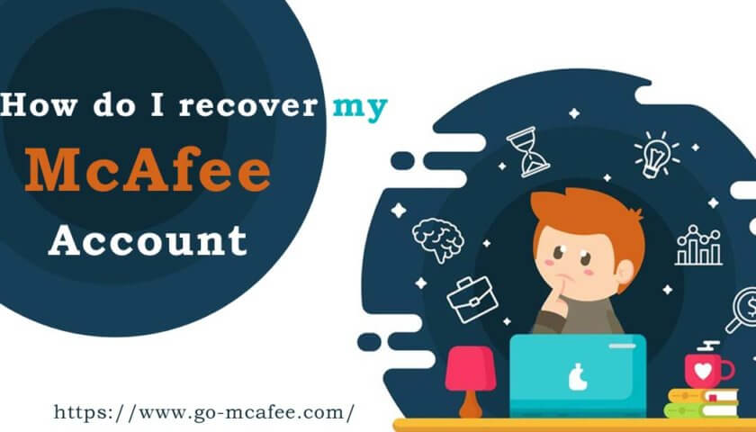 How do I recover my McAfee account (home.mcafee.com)?