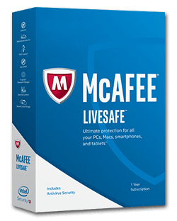 Activate McAfee LiveSafe